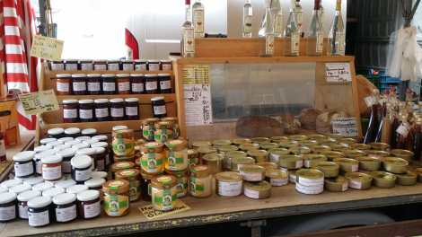 all local produce